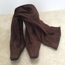 Rampage Boots Women's 9.5 Heel Solid Brown  Photo