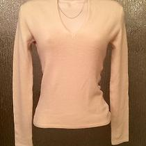 Rampage Clothing Company Form Hugging Acrylic Sweater in Cream Size Small Photo