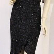 Rampage Cocktail Dress Formal Prom Small Black New Tag Photo