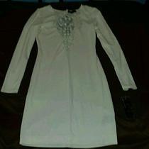 Rampage Dress Nwt Small Off White  Photo
