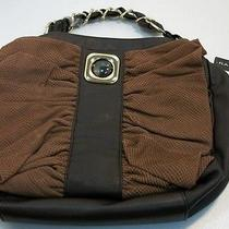 Rampage Dry Snake Leather Purse Hobo Cognac  Photo