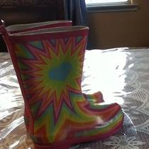 Rampage Girls Water Boots Preowned Size 1 Photo