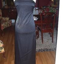Rampage Gown Black Straplessformal Gown Photo