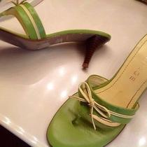 Rampage Green Thong Sandals Photo