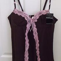 Rampage Intimates Camisole Brown Tank Top Lingerie Size M New With Tag  Photo