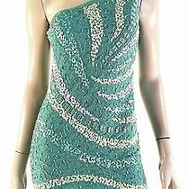 Rampage Junior 5/6 Mesh Embellished Straight Sheath Dress Above Knee Chop 5mbfz1 Photo