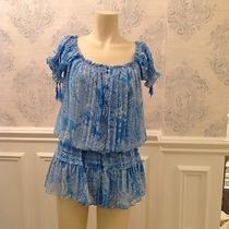 Rampage Light Blue Summer Blouse  Photo