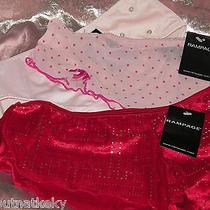 Rampage  Lingerie -  3 Fun Panties to Own - Size  6/ Medium- (1 Red / 2 Pink) Photo