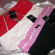 Rampage  Lingerie - Lot of 3 -  Panties - Size / Medium- Black / Red / Pink Photo