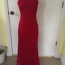 Rampage Long Red Dress Size 3 Photo