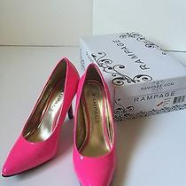 Rampage Pink High Heels Size 5 Pre-Owned Excellent Condition Photo