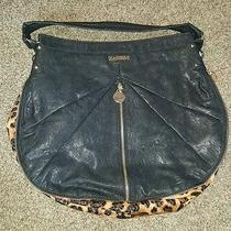 Rampage Purse Hand Bag Black and Leopard  Photo