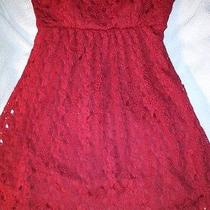 Rampage Red Knit Top  Photo