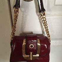 Rampage Red Mini Bar Faux Leather Vegan Clutch Handbag Purse Nwot Photo