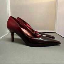 Rampage Red Ombre Heels Size 8.5 Photo