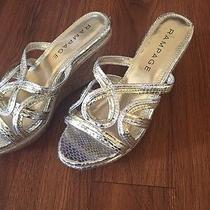 Rampage Silver/gold Wedge Size 7 Medium Photo