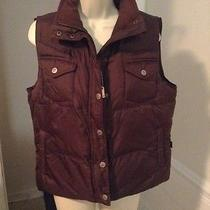 Rampage Size Large Brown Bubble Vest Waterproof Photo