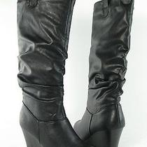 Rampage Swift1 Knee Boot Black Womens Size 7.5 M New 60 Photo