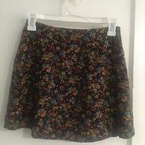 Rampage Vintage Fall Wrap Around  Mini Skirt Size 4 Photo