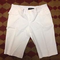 Rampage White Dress Long Shorts Size 3 Photo