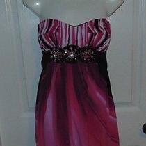 Rampage   Women   Dress Size  S  Pink and Black Photo