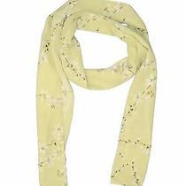 Rampage Women Green Silk Scarf One Size Photo