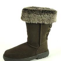 Rampage Women's Boots Astrid Nib Brown Size 6m Photo
