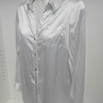 Rampage Women's Sheer Long Sleeve Blouse Button Back & Front Plus Button Cuff Photo