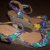 Rampage Women's Wedge Heel Sandals Size 6.5 Photo