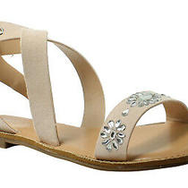 Rampage Womens 44365ijl7 Blush Ankle Strap Flats Size 7 (375724) Photo