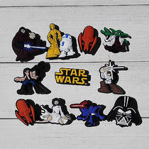 Random 55pcs Star Wars Pvc Shoe Charms Accessories for Bracelet Jibz Croc Gifts Photo