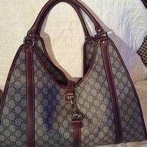 Rare 100% Authentic Large Gucci Handbag or Computer Tote.  Photo