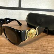 Rare 1980s Vintage Gianni Versace Sunglasses  Mod 413/a col.852 Medusa Head Photo
