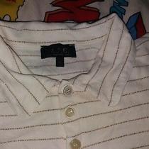 Rare  a.p.c. Rue Madame Paris Polo Shirt Apc Polo Stripe Shiny Shirt  Photo