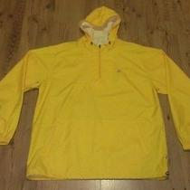 Rare Adidas Mens Pullover Jacket Sz Large Yellow Sample Never Produced Unique Photo