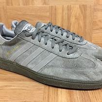 Rare Adidas Originals Spezial Gunmetal Gray Sz 9 Striped Gum Soles Gold Photo