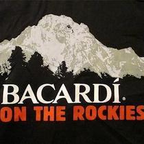 Rare and Unique Bacardi of the Rockies Dickies Mechanic Biker Work Shirt Rum L Photo