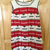 Rare Andy Warhol Vintage Pop Art Campbell Soup Paper Dress  1968  Mint  Photo