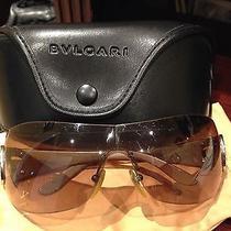 Rare Authentic Bvlgari Sunglasses  Photo