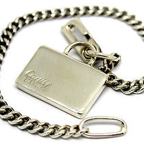 Rare Authentic Cartier Vintage Sterling Silver Keychain / Bracelet/ Bag Charm Photo