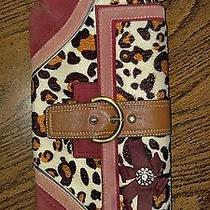 Rare Authentic Coach Purse Amazing Handbag Animal Print Cheetah Photo