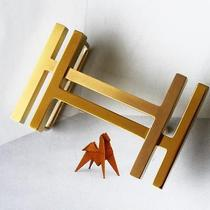 Rare Authentic Gold Palladium Hermes H Au Carre Belt Buckle New in Dust Bag Photo