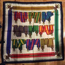 Rare Authentic Hermes Silk Scarf - Les Ceintures Photo