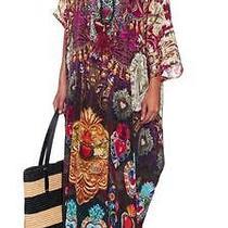 Rare Camilla Franks Milagro Round Neck Kaftan Swarovski Silk Rnk Photo
