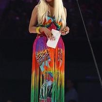 Rare Camilla Franks Rainbow Gathering Dress One Size Fits Most Photo