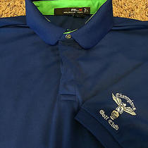Rare Champions Golf Club Polo Ralph Lauren Rlx Tour Shirt Country Sport Houston Photo