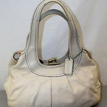 Rare Coach Ergo Framed Satchel Handbag Purse   12248  Tattersall Lining 495 Photo