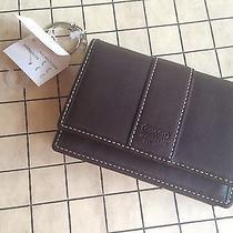 Rare Coach Multi-Case Key Ring  Fs3485 Mahogany/ Mahogany Nwt Photo