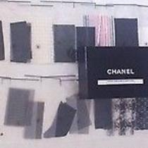 Rare Collectors Chanel -- 35 Swatches of Tweed and Other Fabrics -- in Box Photo