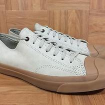 Rare Converse Jack Purcell Brown Natural Leather Gum Soles Cork Insoles 11.5 Photo